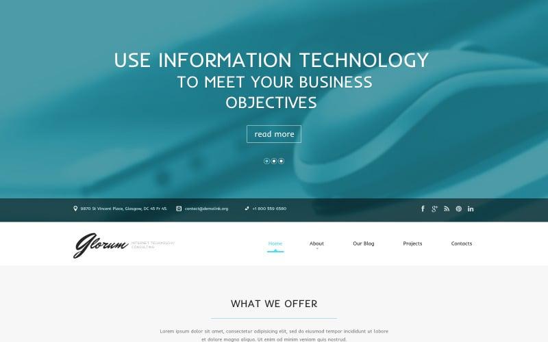 Internet-responsief WordPress-thema