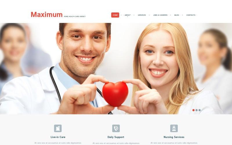 Медицинская адаптивная тема WordPress