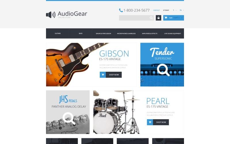 Music Equipment PrestaShop Theme