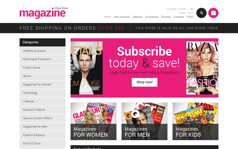 Nyhetsportal ZenCart-mall