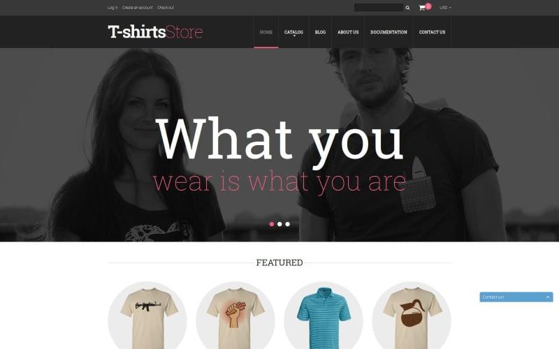 Stylish Tshirts Shopify Theme