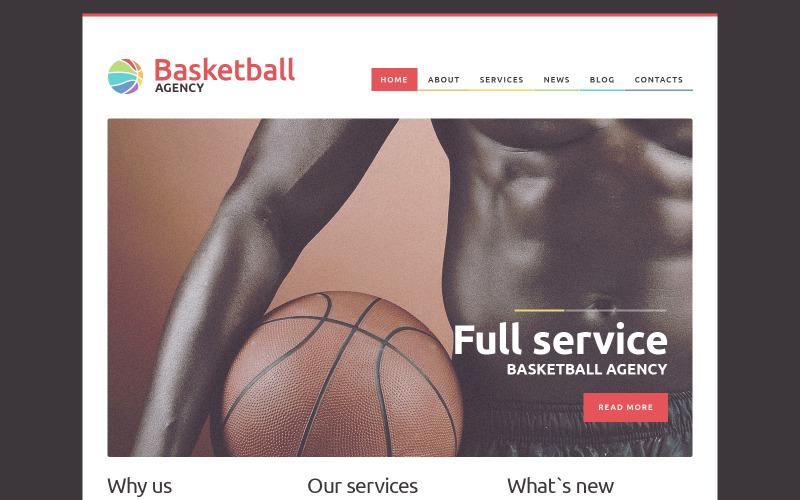WordPress motiv NBA Mentor