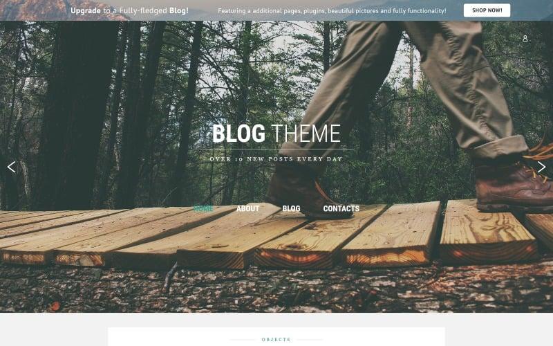 Modern Free Blog Joomla Template