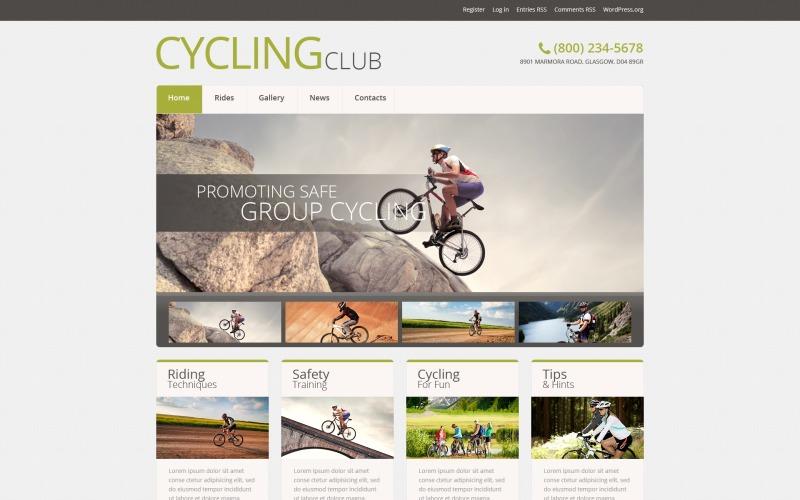 Responsief WordPress-thema voor fietsen