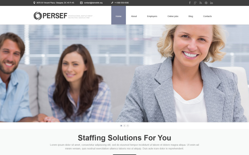 PR-responsivt WordPress-tema