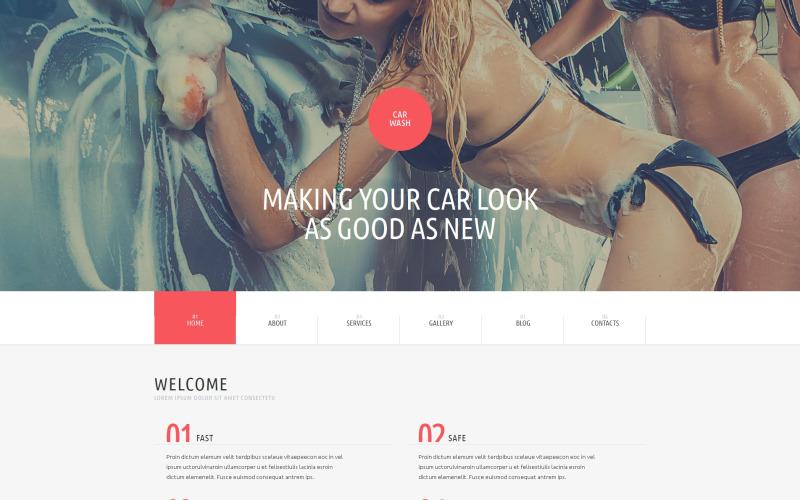 Tema de WordPress para lavado de coches