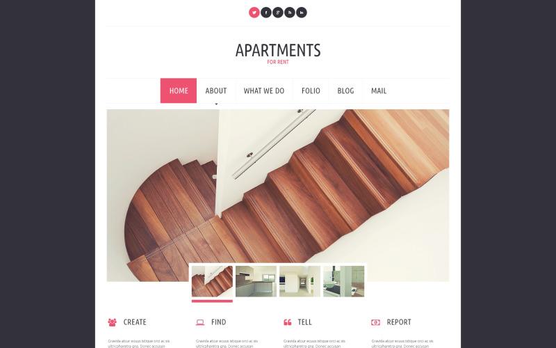 Тема WordPress для аренды квартир