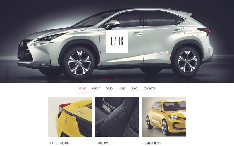 Thème WordPress Car Passion