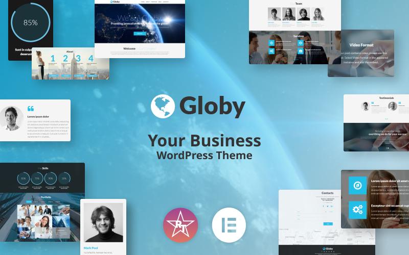 Az üzleti WordPress téma