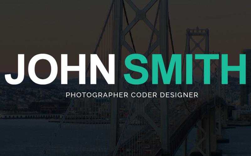 Çevrimiçi CV WordPress Teması