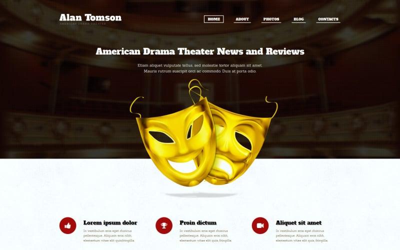 Duyarlı Tiyatro WordPress Teması