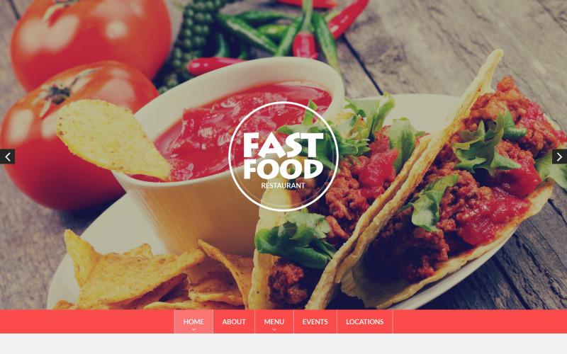 Fast Food Drupal Template