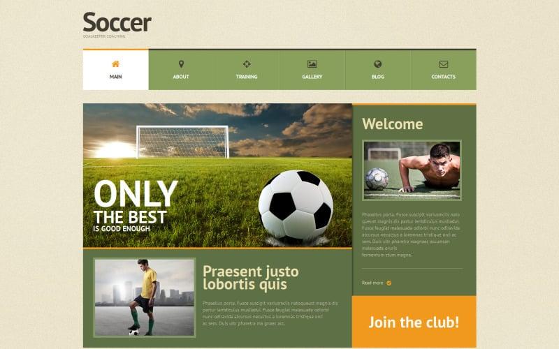 Адаптивная тема WordPress для футбола