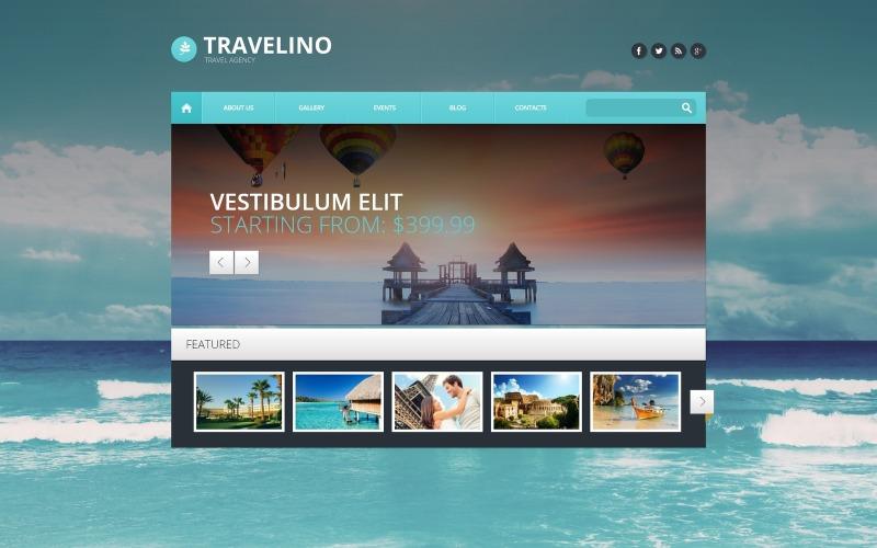 Адаптивная тема WordPress для туристических агентств