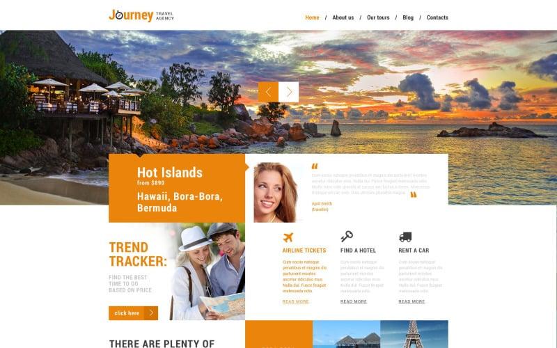 Dream Travel Club WordPress Theme
