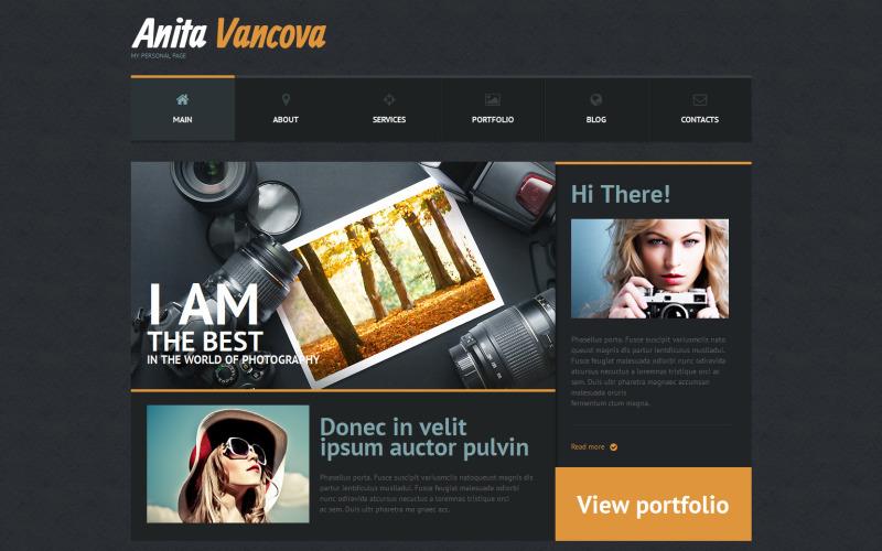 Duyarlı Kişisel Sayfa WordPress Teması
