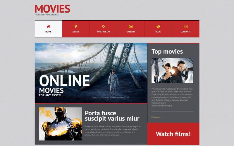 Filmowy responsywny motyw WordPress