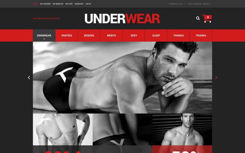 Magento motiv pro spodní prádlo pro muže
