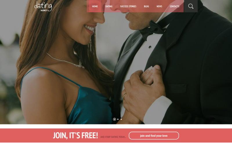 Online Romance WordPress Theme