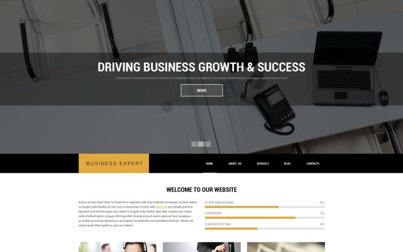 Professional Business Advice Drupal Template