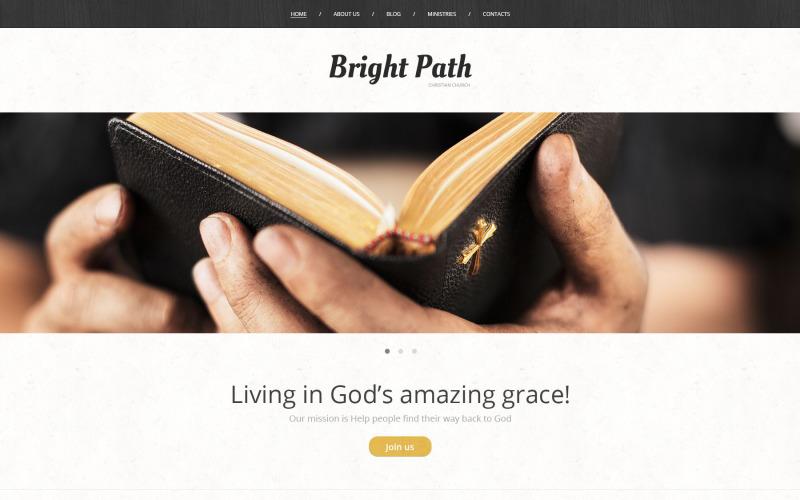 Tema WordPress Presenza Web della Chiesa