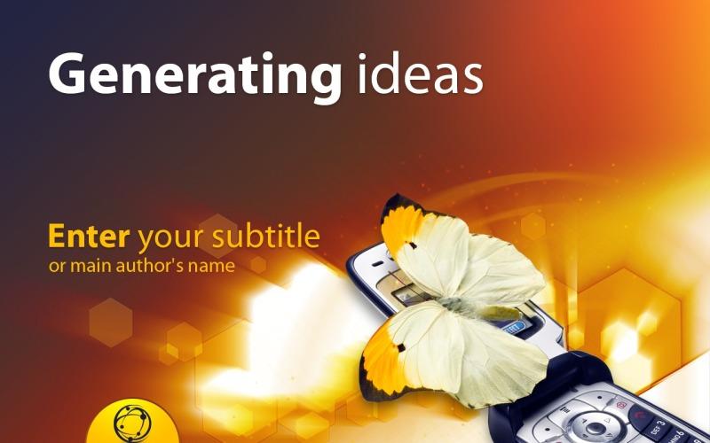 Plantilla de PowerPoint - tema corporativo de powerpoint