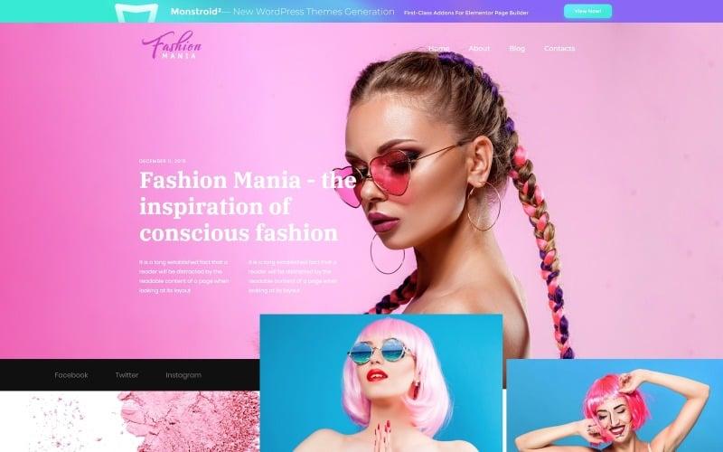 Easy WordPress theme