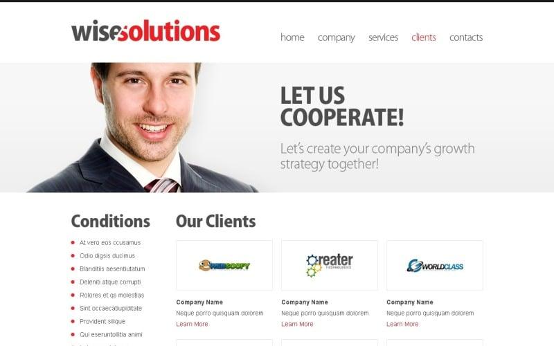 Free Business Template - jQuery Slider Website Template