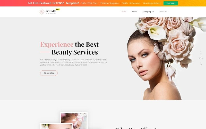Free Bootstrap Template Website Template