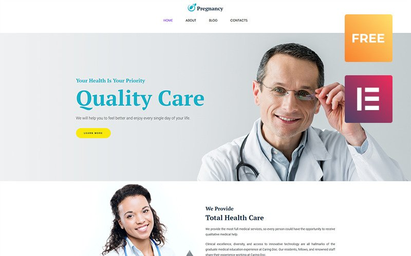 Free WordPress Template WordPress Theme