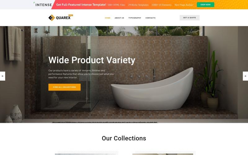 Ingyenes HTML5 téma a belső webhely webhelysablonjához