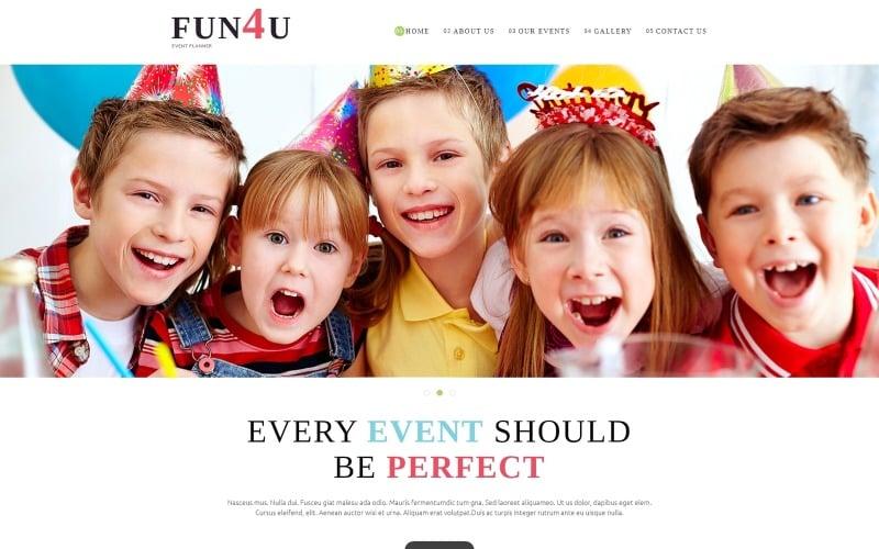 Festivity Planning Joomla Template