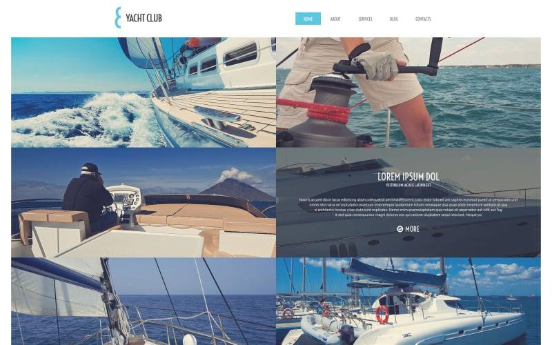 Yacht Vacation WordPress Theme