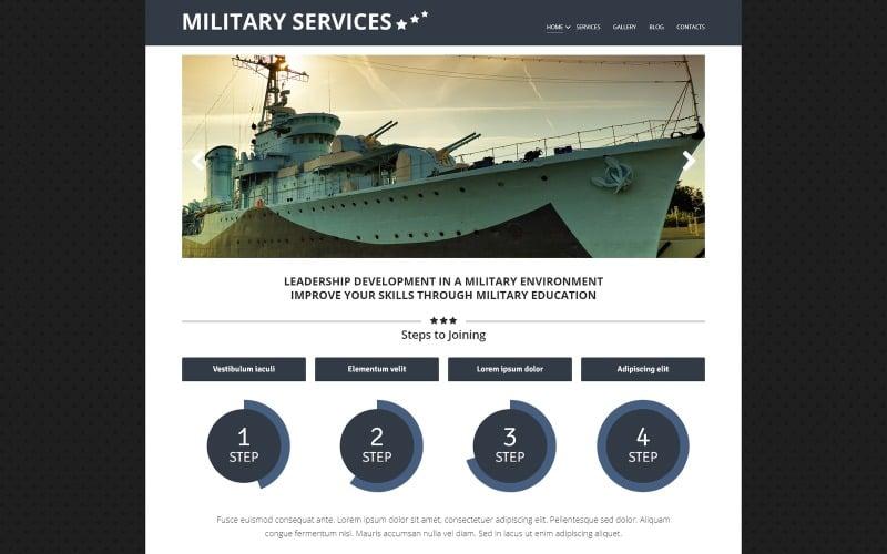 Military Environment Joomla Template