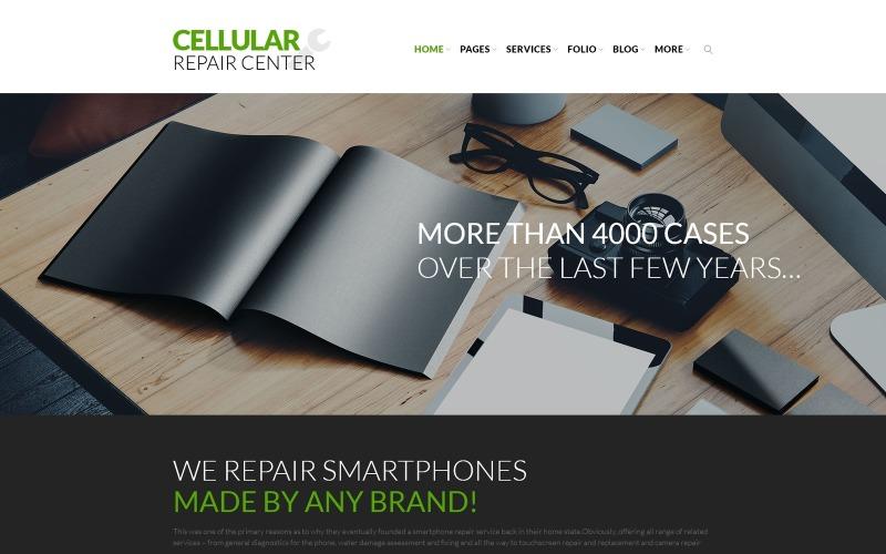 Тема WordPress для центра ремонта сотовой связи