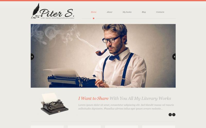 Адаптивная тема WordPress для персональной страницы