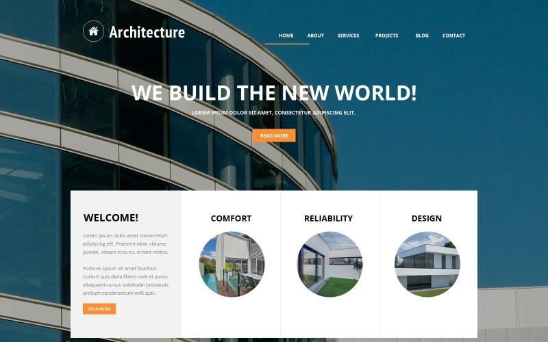 Building Art Joomla Template