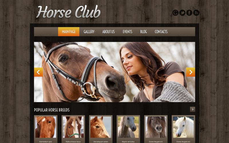 Paardenfokkerij WordPress Theme