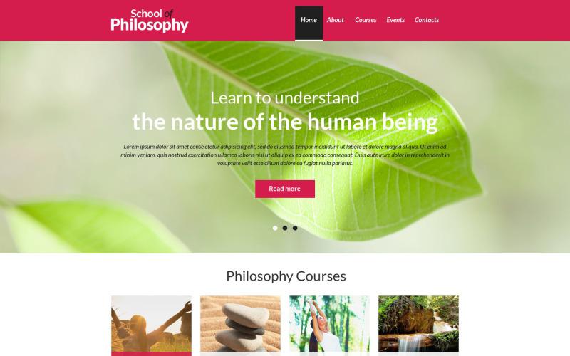 Spiritual Enlightenment Club Drupal Template