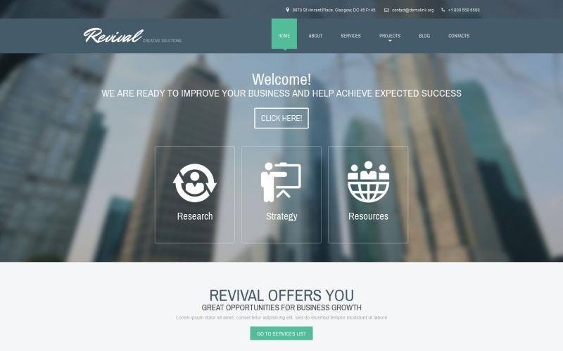 Business & Services Responsive Drupal Template