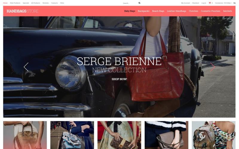 Handbag Boutique ZenCart Template