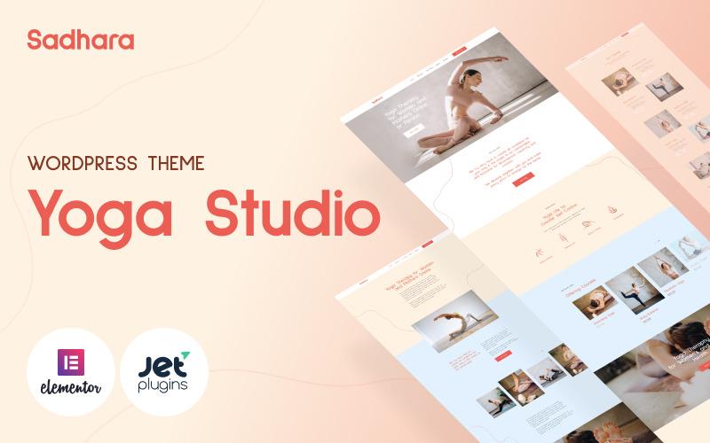 Sadhara - Yoga Studio WordPress Theme