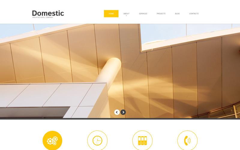 WordPress šablona Responzivní stavební společnost