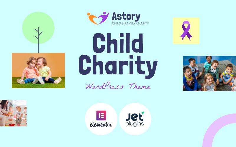 Astory - Child Charity WordPress Theme