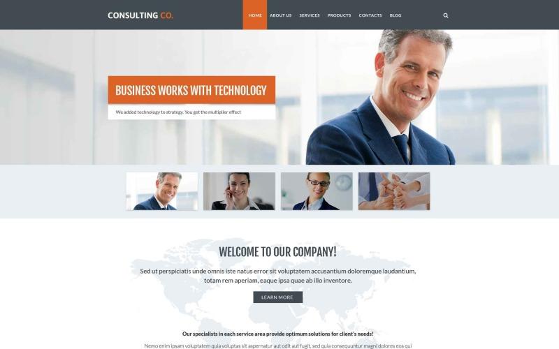 Business Drupal Vorlage