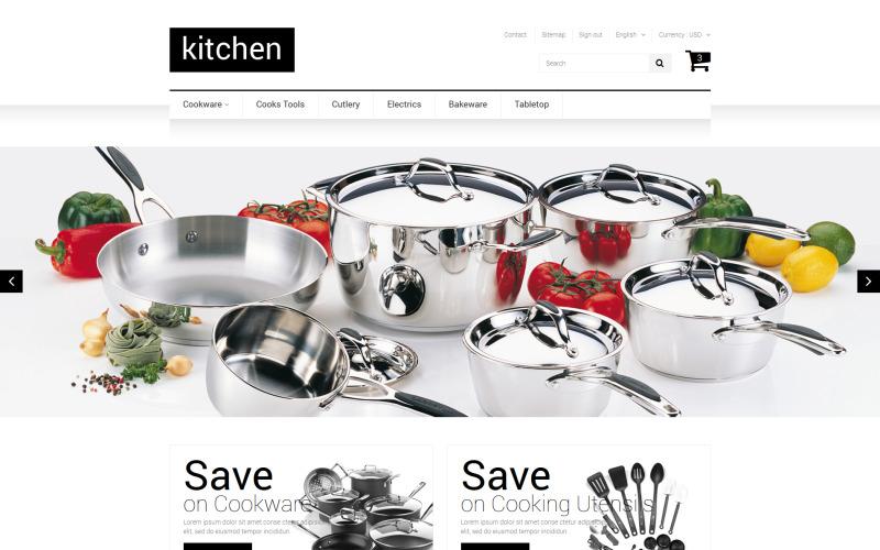 Kitchen Supplies Store PrestaShop Theme