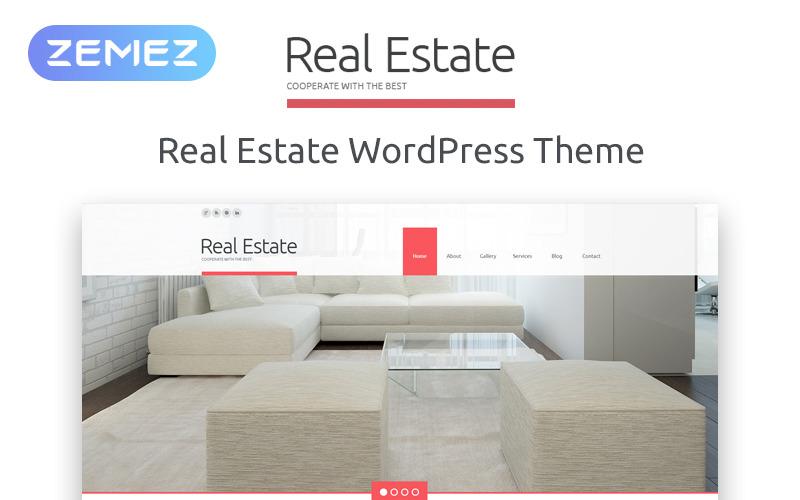 Tema WordPress reattivo per l'agenzia immobiliare