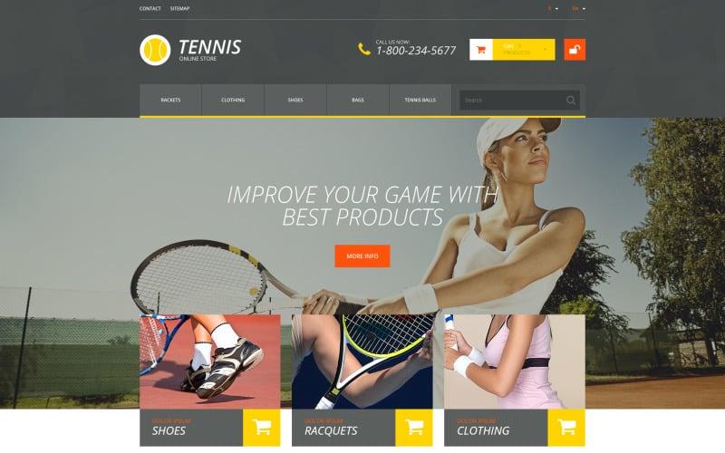 Tennis Accessories PrestaShop Theme