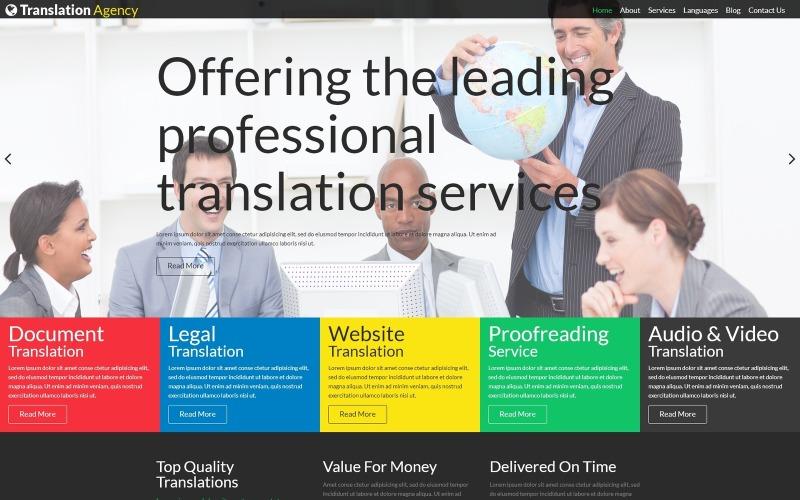 Translation Agency Modern Joomla Template