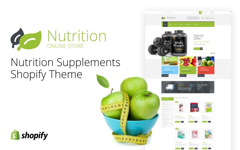 Харчові добавки тема Shopify